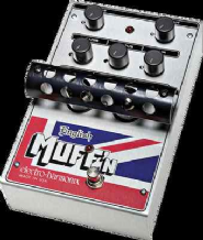 Electro Harmonix English Muff'n Tube Distortion / Preamp Guitar Pedal